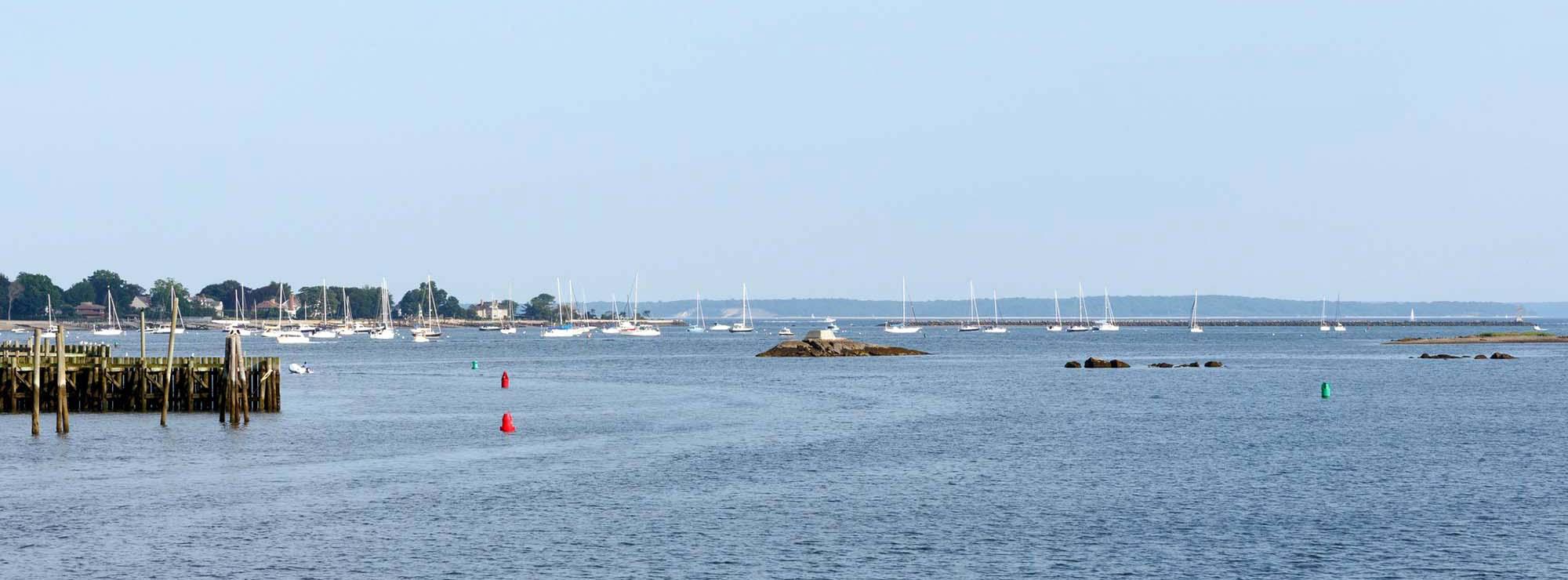 Connecticut Coastal Seascape along the Long Island Sound